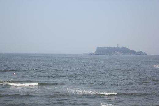 江の島が見えまする♪