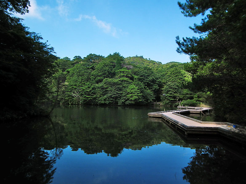 110814穂高湖1+