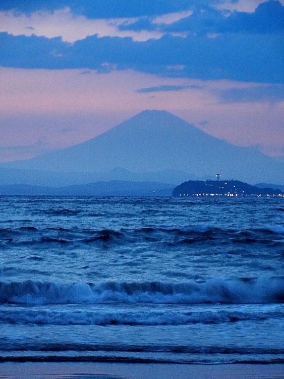 130427逗子海岸夕景4