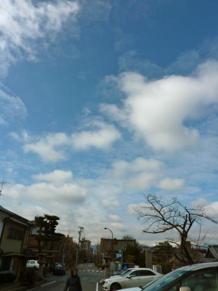 二日目の青空