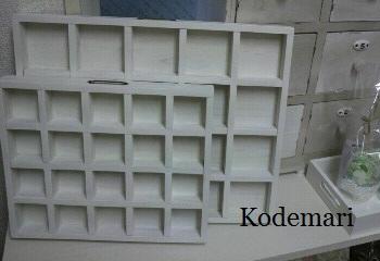 ディスプレイ 木箱