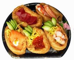 復興五色稲荷寿司2