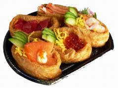 復興五色稲荷寿司