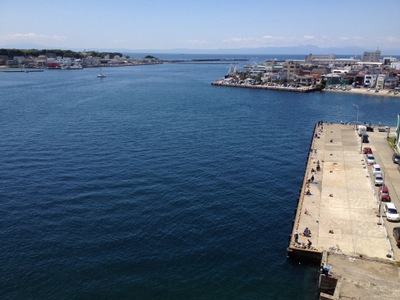 城ヶ島大橋からの眺め