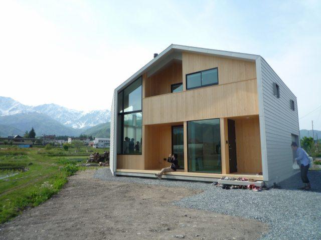s-白馬の家、南東外観、P1040730
