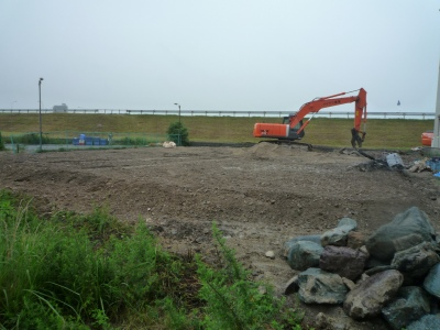 s-6,26、整地、庭石、,土間コン・機械基礎撤去後、 P1040868