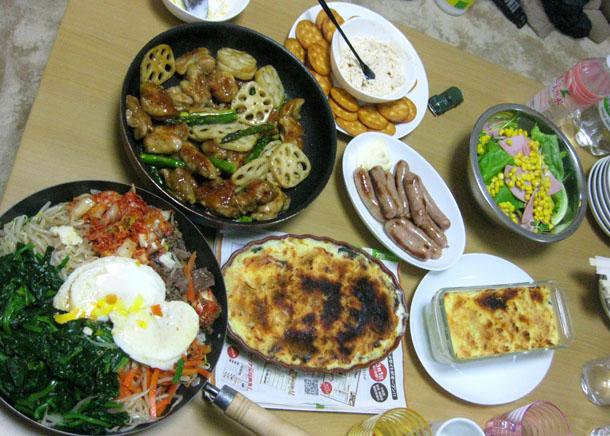4月3日の晩飯