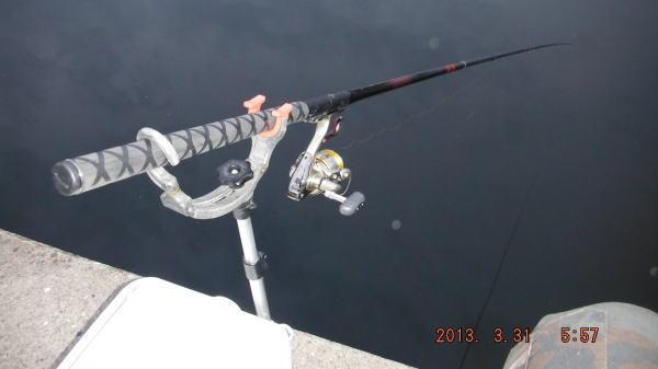 釣り開始だぜい ^^