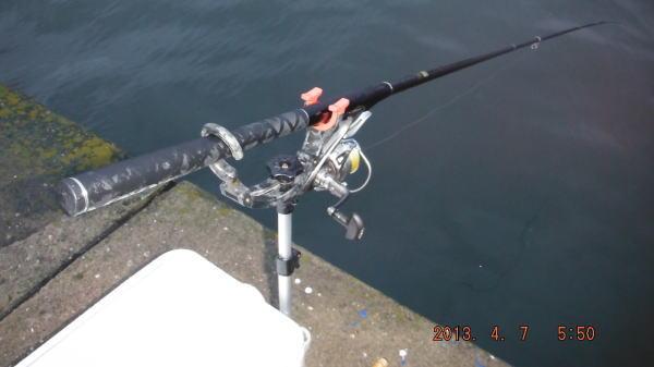 5:50 釣り開始 ♪