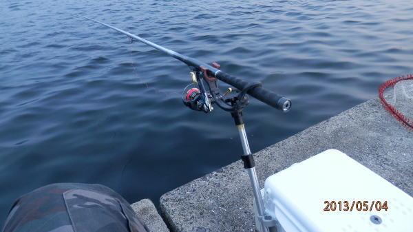 5:10 釣り開始