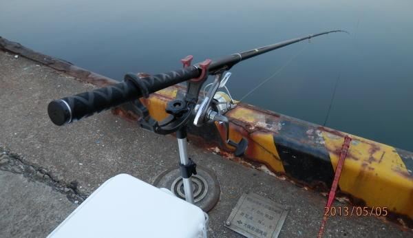 4:55 釣り開始 ♪
