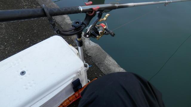 6時過ぎに釣り開始 ♪