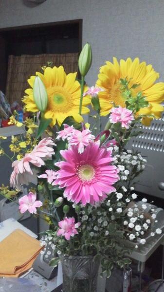 お花 ^^