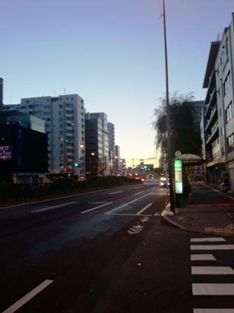 20131222夜明け