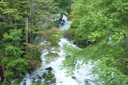 阿寒川源流の滝