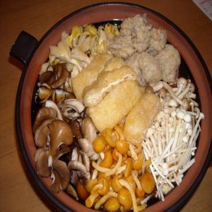 2012.1.6きのこ鍋