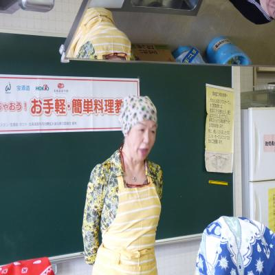 2012.4.24料理教室1