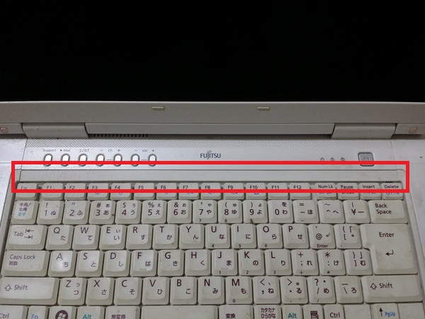 FMV-BIBLO NF50WN キーボード上メクラ蓋