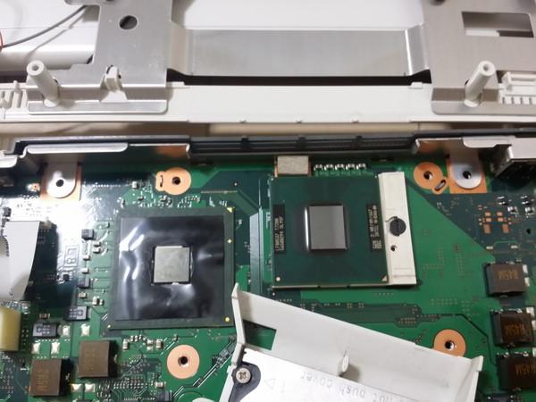 FMV-BIBLO NF50WN 新CPU