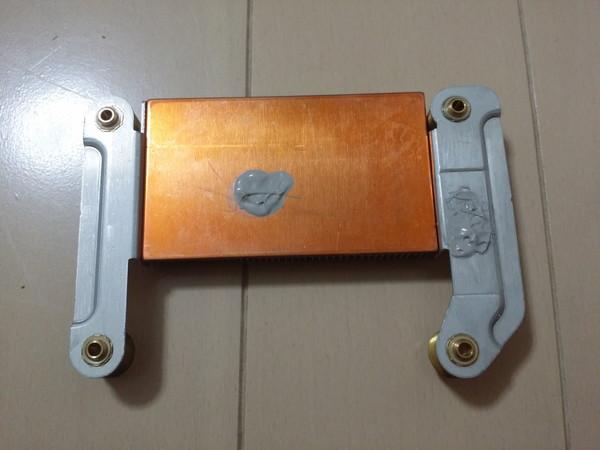 FMV-BIBLO NF50WN ヒートシンクグリス塗布
