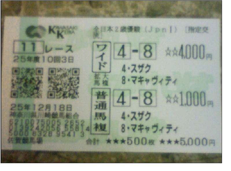 川崎11R(2)