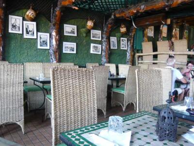 モロッコ・マラケシュ「Chez Brahimのランチセット」1