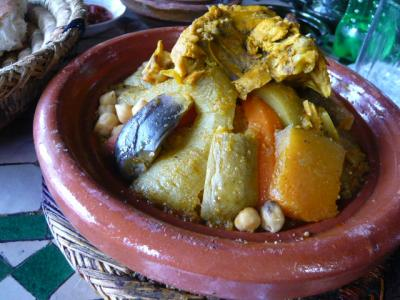 モロッコ・マラケシュ「Chez Brahimのランチセット」4