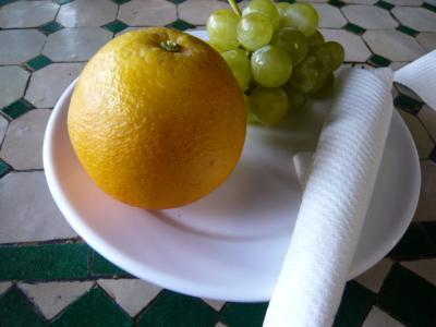 モロッコ・マラケシュ「Chez Brahimのランチセット」15