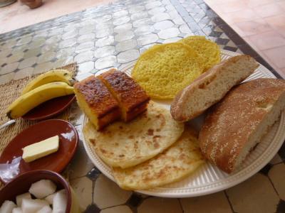 モロッコ・マラケシュ「Riad Noor Charana」22