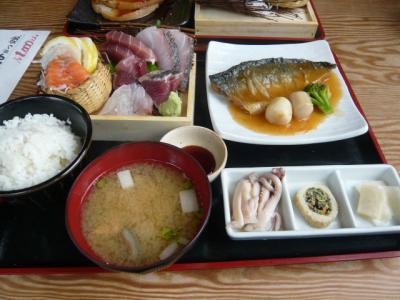 三軒茶屋「魚待夢のランチ定食」2