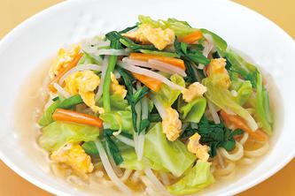 野菜やもちろん肉とも合う野菜タンメン