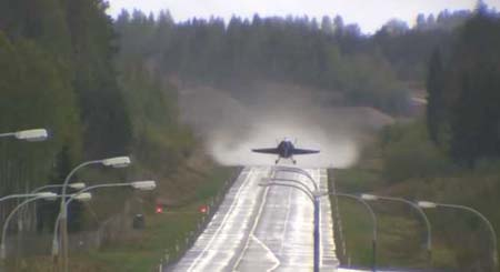 スイスの高速道路