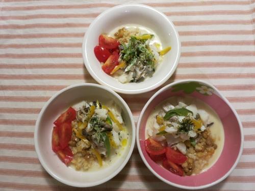 朝ご飯 鱈とチーズのホイール焼き