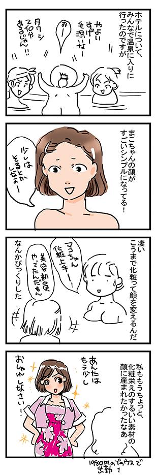 顔を描く2