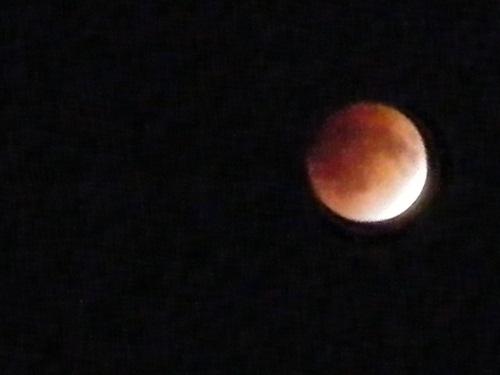 月食ピーク