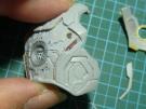 ハズブロ アイアンマン 胸部装甲パネル製作