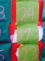 折り紙アドベントカレンダー