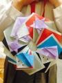マユの折り紙リース