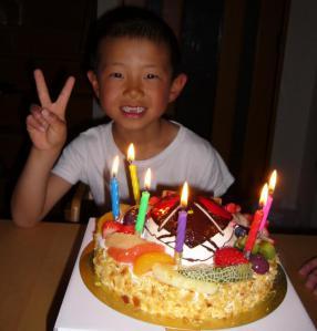 航輝誕生日2012