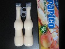 パピコ白桃のスムージー