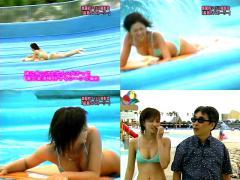 安田美沙子の水着動画