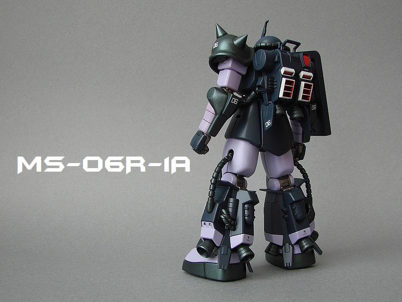 MS-06R-1A 黒い三連星
