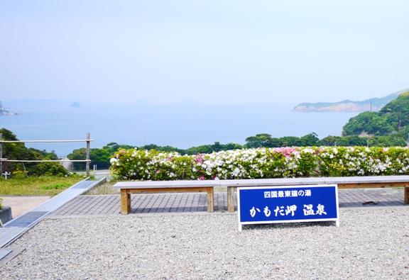 海の向こうは和歌山県かな??