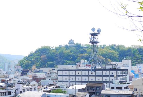 テレビ塔?がすっごい邪魔なんだけどね。。