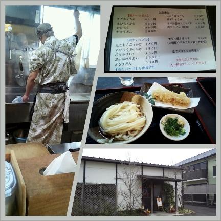 注文してから麺をゆでる&天ぷらを揚げてくれます
