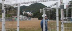 2013 0609 防災訓練 010 着陸
