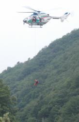 2013 0609 防災訓練 010 着陸3