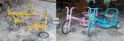 小 三輪車ビフォーアフター