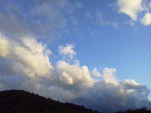 秋の雲in田人
