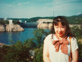 2010直美・ダムのそばの直ちゃん